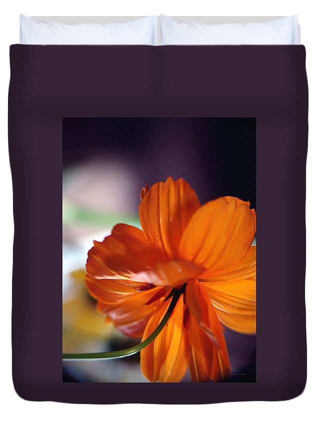 Flowers Duvet Cover featuring the photograph Openings... by Arthur Miller