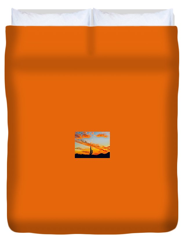 Duvet Cover featuring the photograph Orange Blossom Moments by Joy Elizabeth