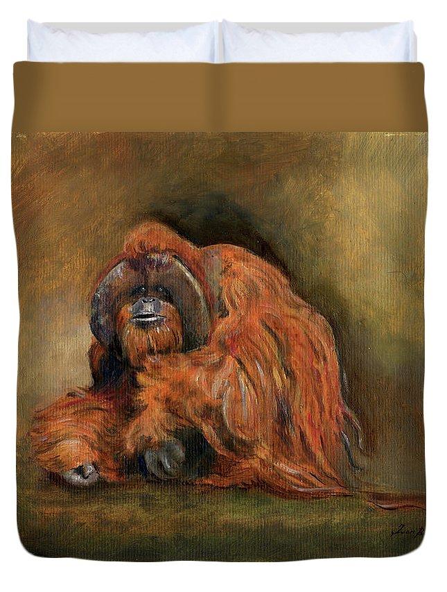 Orangutan Duvet Covers