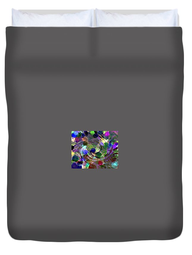 Wormhole Duvet Cover featuring the digital art Imagination by Barbara Knowles