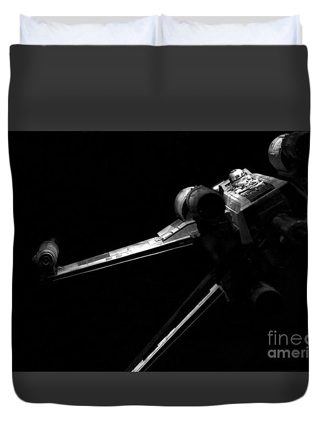 Star Wars Duvet Cover featuring the photograph Original Luke Skywalker X-wing Fighter 2 by Micah May