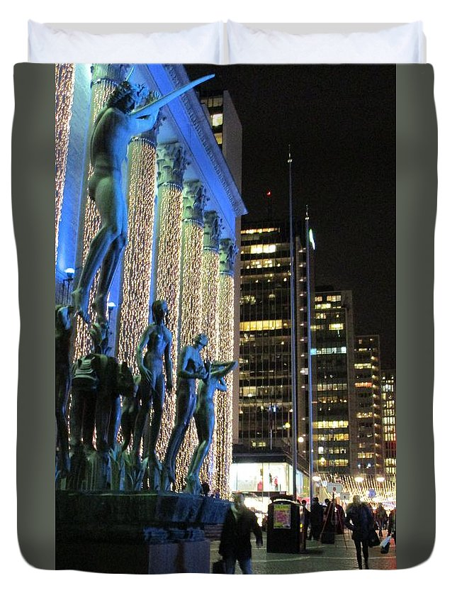 Stockholm Duvet Cover featuring the photograph Orpheus by Rosita Larsson