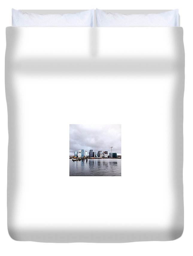 Oslo Duvet Cover featuring the photograph Oslo by C Planeta