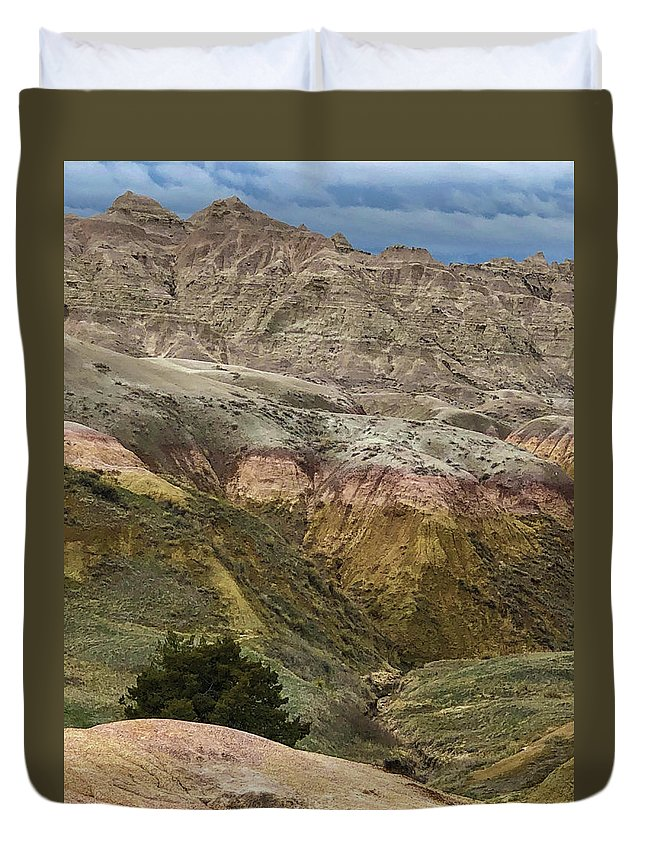 Breathtaking Duvet Cover featuring the photograph Our Beautiful World by Sandra Lund