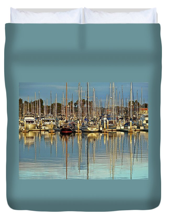 Boat Duvet Cover featuring the photograph Out Of The Ordinary by Diana Hatcher