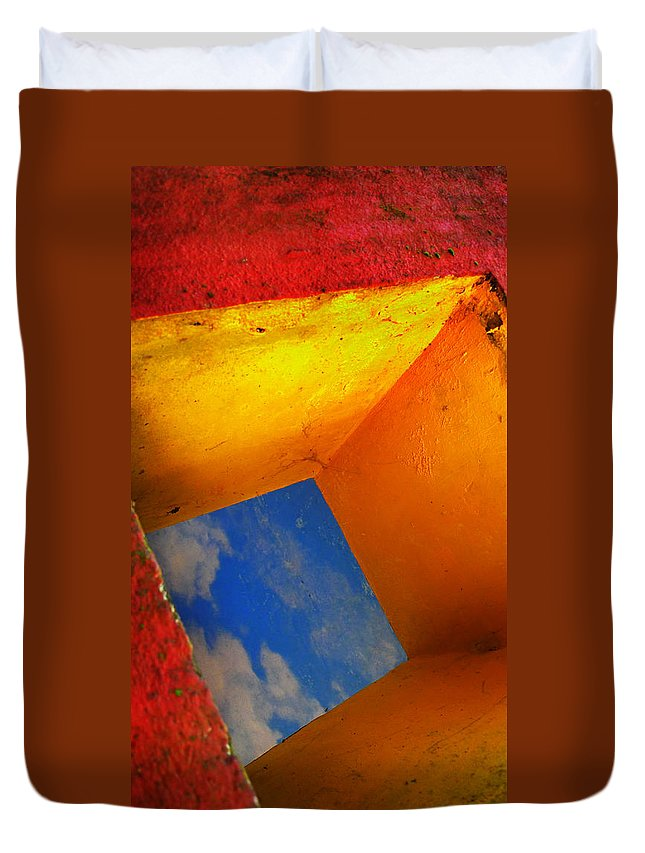 Skip Hunt Duvet Cover featuring the photograph Over The Rainbow by Skip Hunt