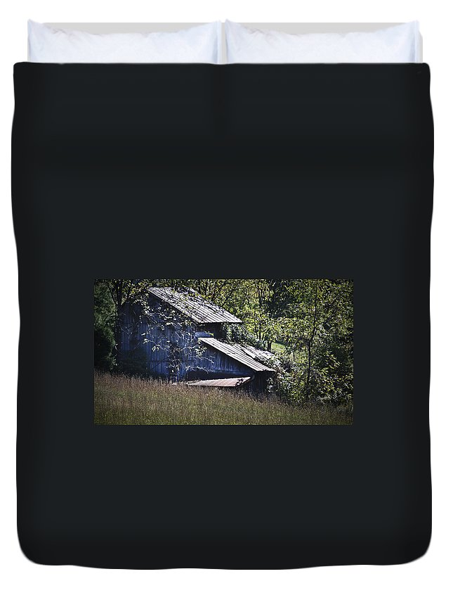 Virginia Duvet Cover featuring the photograph Overgrown by Teresa Mucha