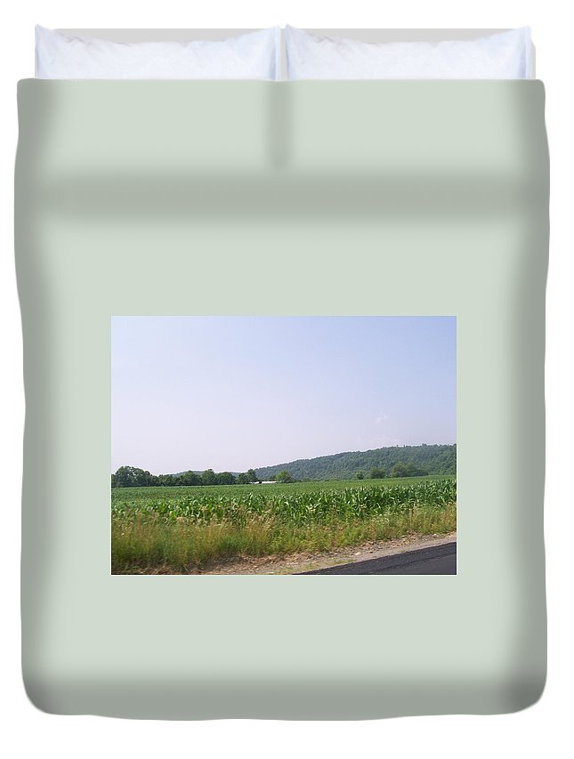 Pennsylvania Duvet Cover featuring the photograph PA by R Chambers