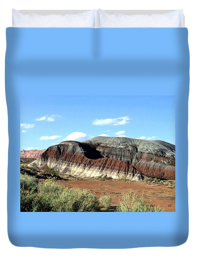 Arizona Duvet Cover featuring the photograph Painted Desert by Will Borden