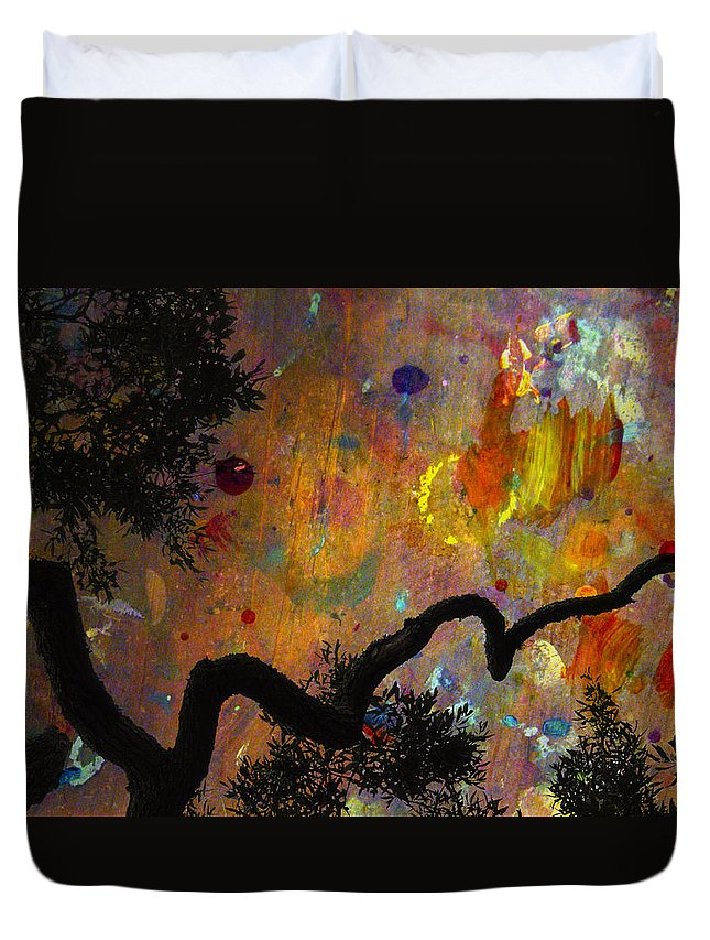 Abstracts Duvet Cover featuring the photograph Painted Skies by Jan Amiss Photography