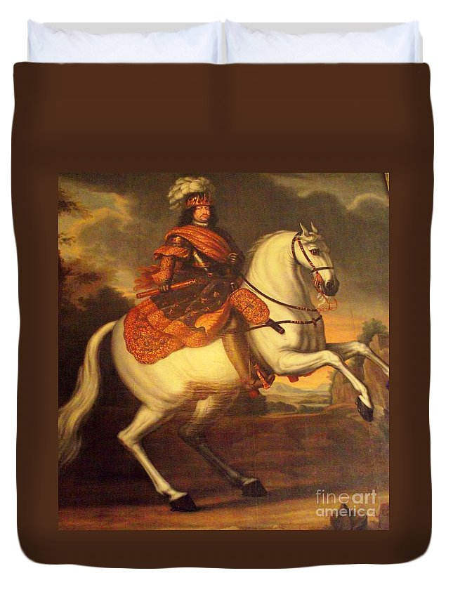 Denmark Duvet Cover featuring the photograph Painting In Denmark by James Carr