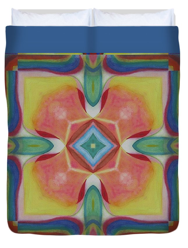 Duvet Cover featuring the digital art Paradise Lost by Jeffrey Todd Moore