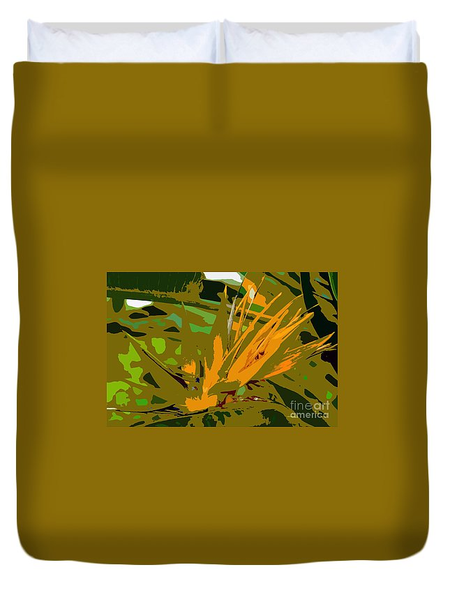 Paradise Duvet Cover featuring the photograph Paradise Work Number 9 by David Lee Thompson
