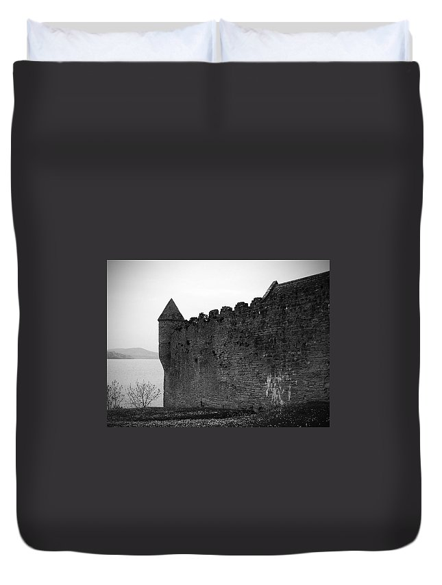 Ireland Duvet Cover featuring the photograph Parkes Castle County Leitrim Ireland by Teresa Mucha
