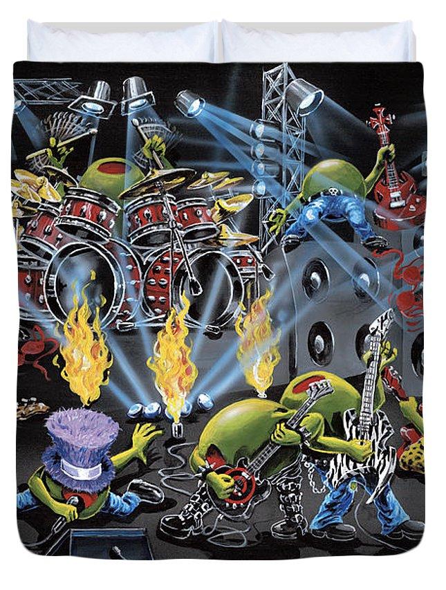 Rockstar Paintings Duvet Covers