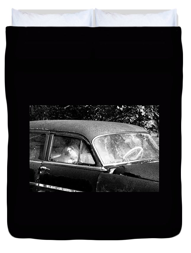 Passenger Duvet Cover featuring the photograph Passenger by David Lee Thompson