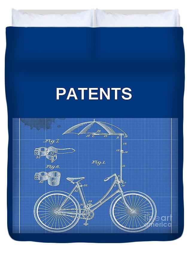 Patent Illustration Duvet Covers
