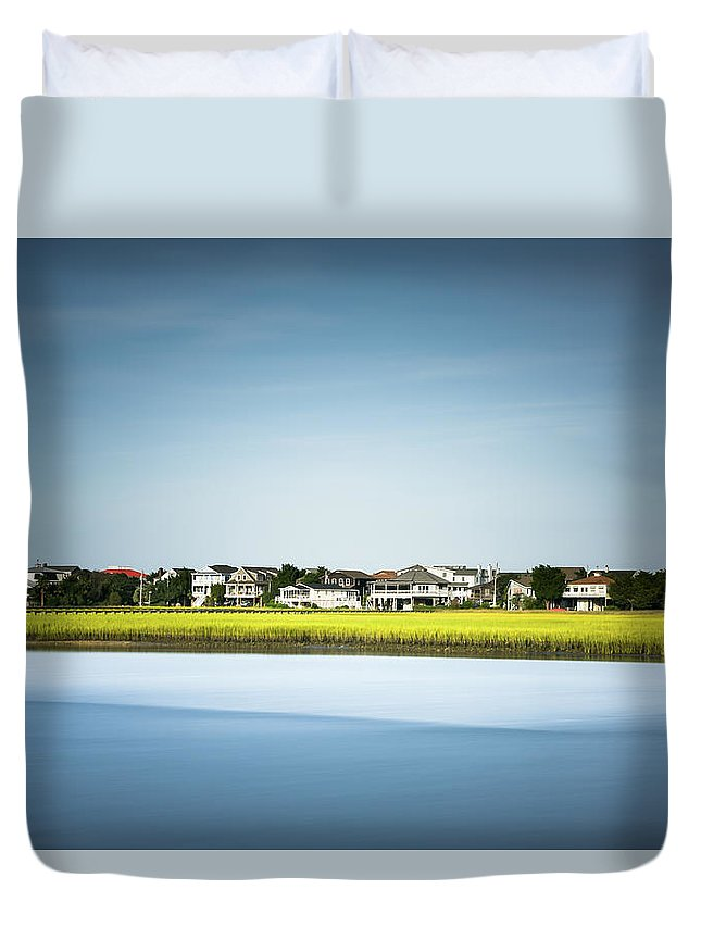 Pawleys Island Duvet Cover featuring the photograph Pawleys Island Marsh by Ivo Kerssemakers
