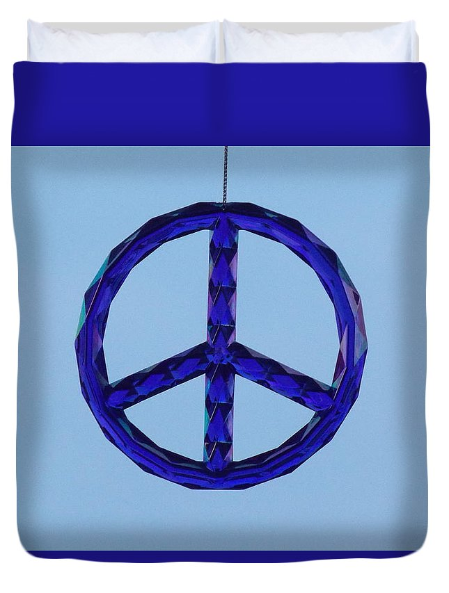 Peace Duvet Cover featuring the photograph Peace by Virginia Kay White