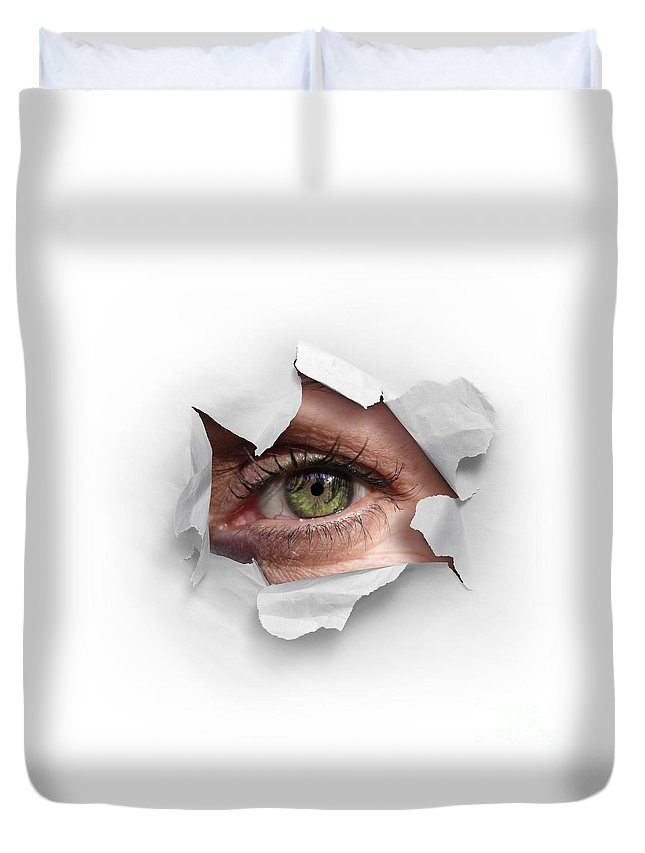 Abstract Face Duvet Covers