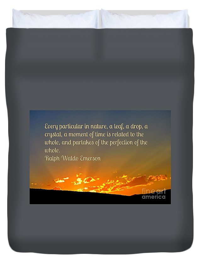 Perfection Of Nature Duvet Cover featuring the photograph Perfection Of Nature by John Malone