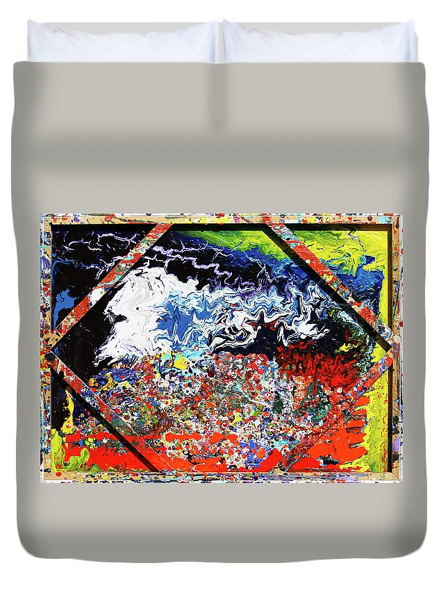 Fusionart Duvet Cover featuring the painting Perspective by Ralph White