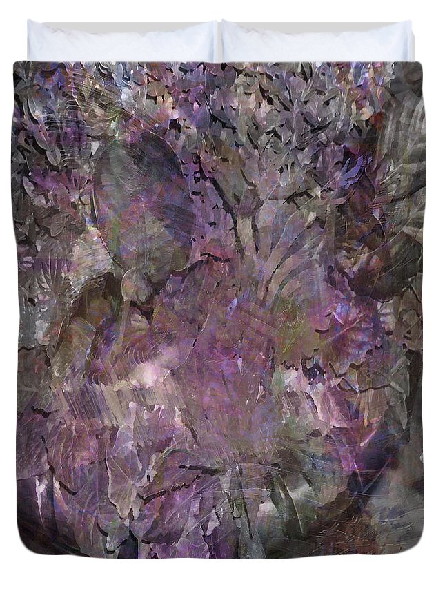 Petal To The Metal Duvet Cover featuring the digital art Petal To The Metal by John Beck