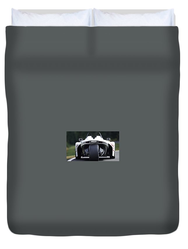 Peugeot 20cup Duvet Cover featuring the digital art Peugeot 20cup by Dorothy Binder