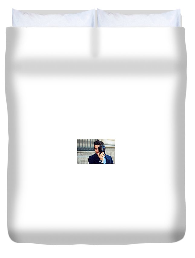 Duvet Cover featuring the photograph Photography by Maulik Shah