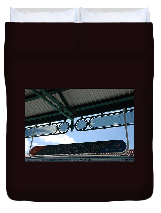 Cities Duvet Cover featuring the photograph Pick A Town Any Town by Rob Hans