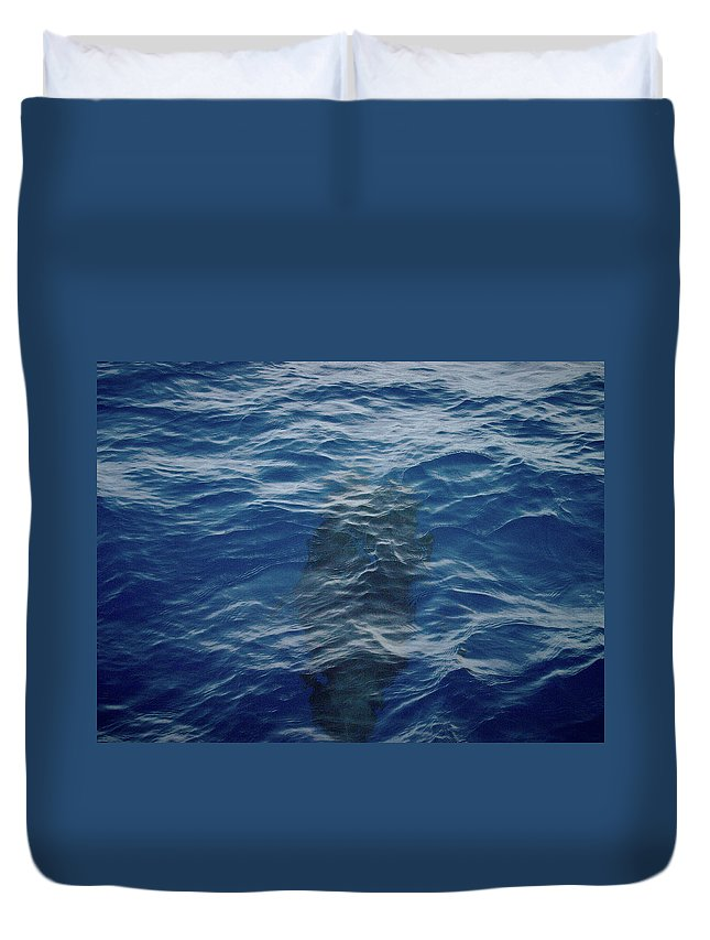 Valasretki Duvet Cover featuring the photograph Pilot Whale 8 by Jouko Lehto