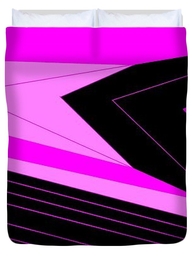 Pink 2 Duvet Cover For Sale By Linda Velasquez