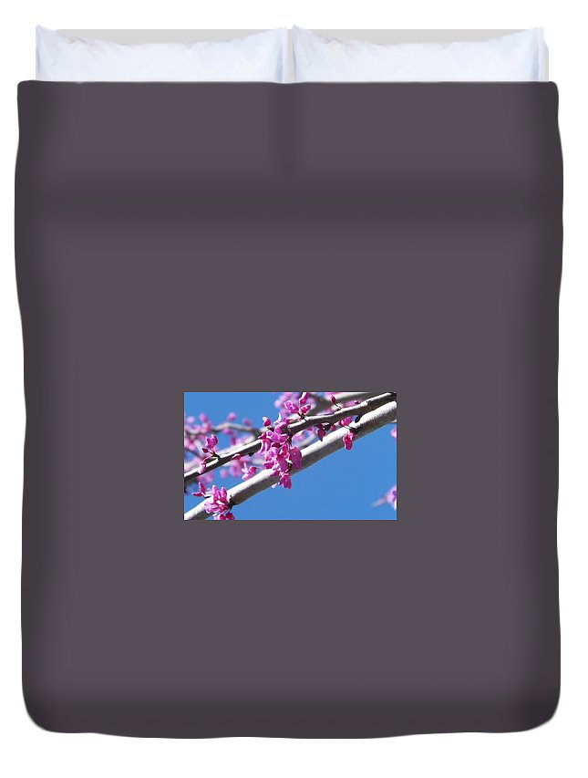 Pink Duvet Cover featuring the photograph Pink by Talisha Bland