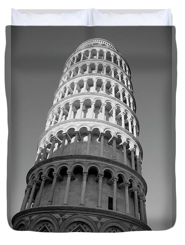 Tower Of Pisa Duvet Cover featuring the photograph Pisa Tower by Ivete Basso Photography