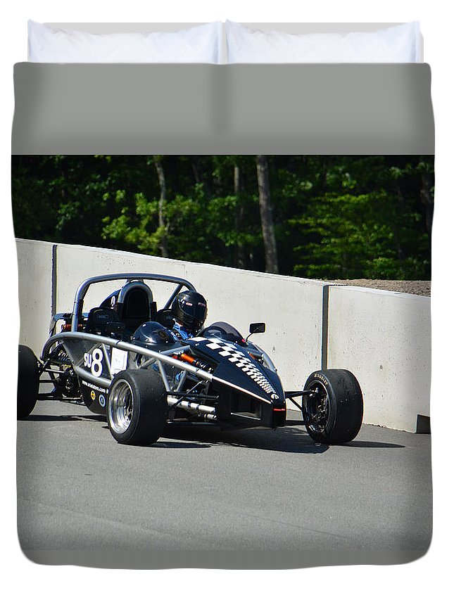 Pit Duvet Cover featuring the photograph Pit Out by Mike Martin