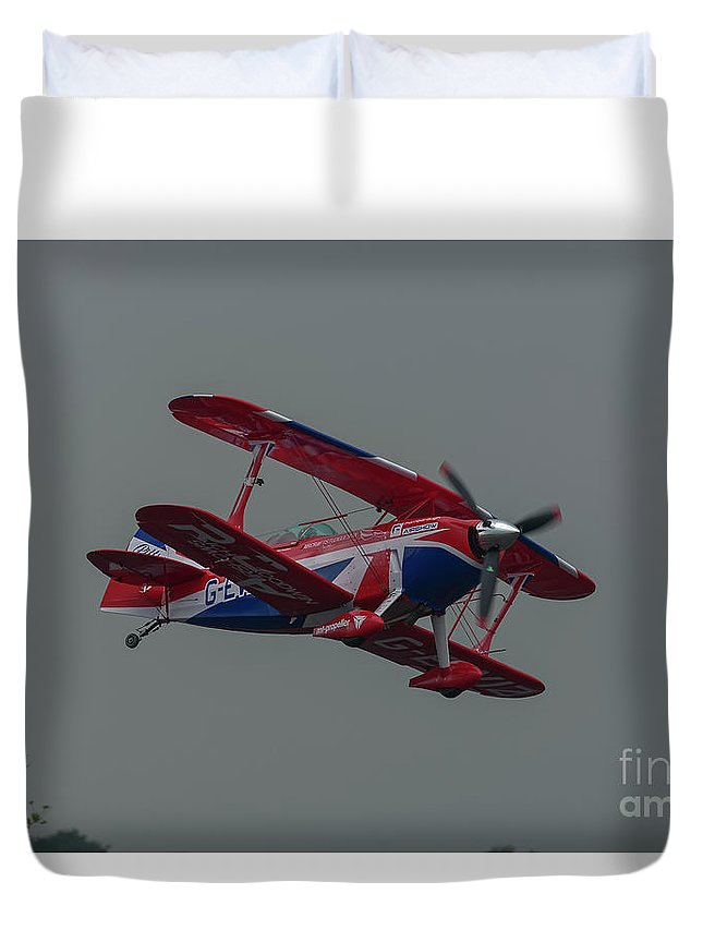 Pitts Duvet Cover featuring the photograph Pitts Special by Philip Pound