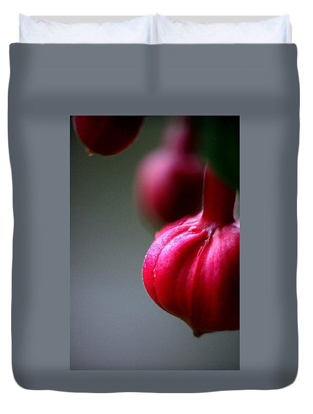Flowers Duvet Cover featuring the photograph Pleasant... by Arthur Miller
