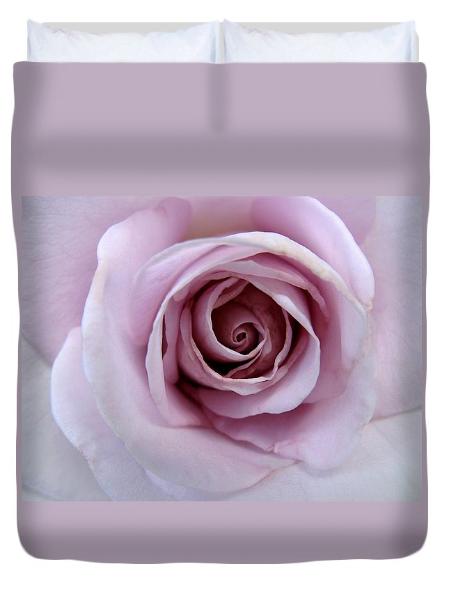Lavender Duvet Cover featuring the photograph Poignant by Carol Sweetwood