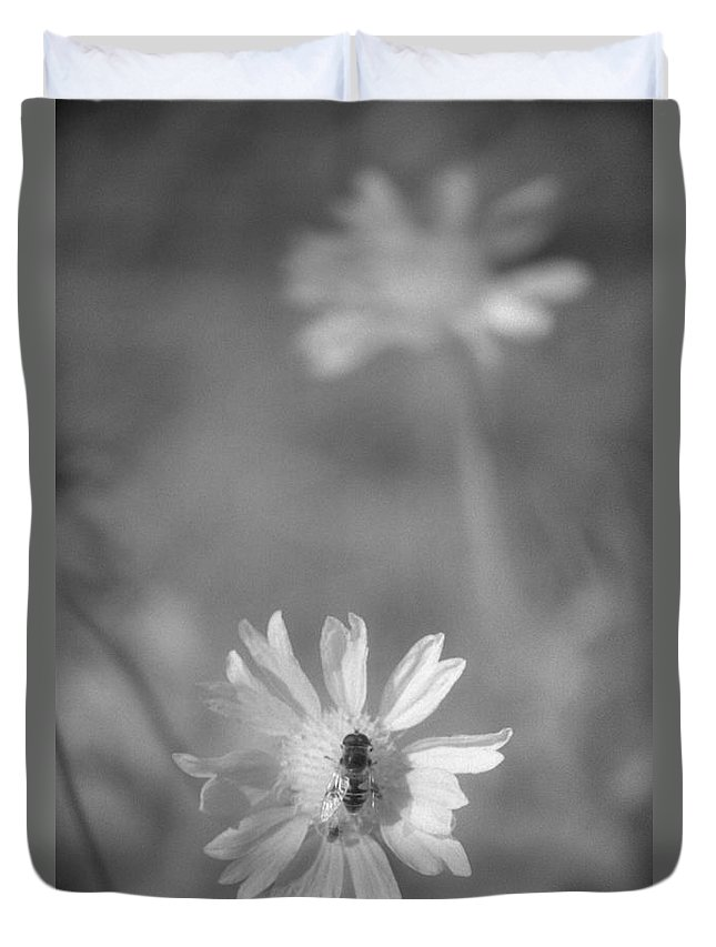 Pollinate Duvet Cover featuring the photograph Pollination by Richard Rizzo
