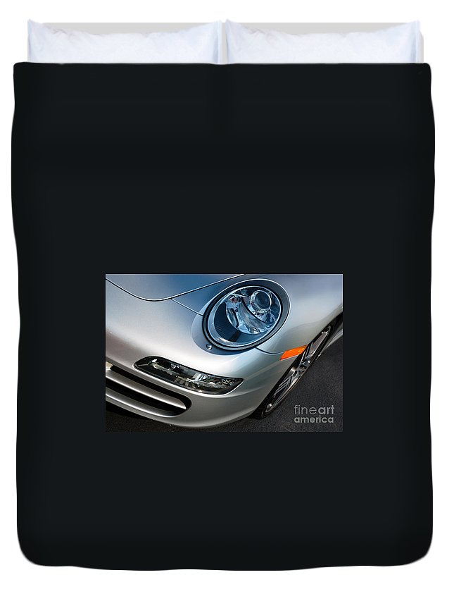 911 Duvet Cover featuring the photograph Porsche 911 by Paul Velgos
