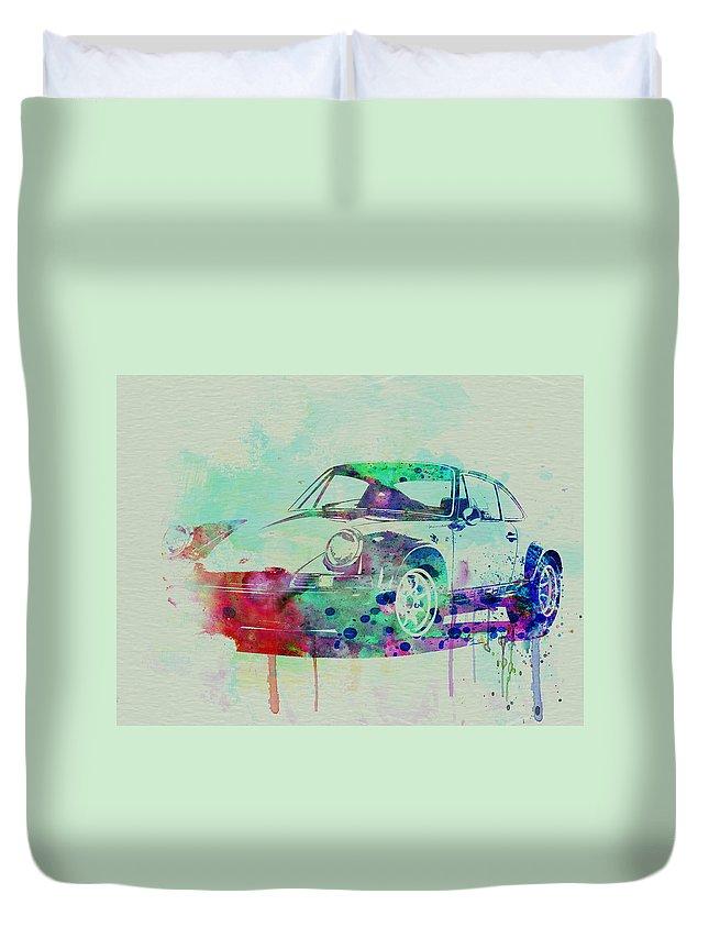 Automotive Paintings Duvet Covers