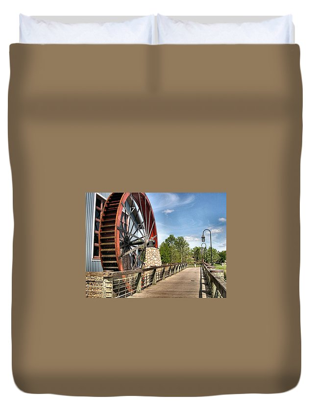 Port Orleans Duvet Cover featuring the photograph Port Orleans Riverside IIi by Nora Martinez