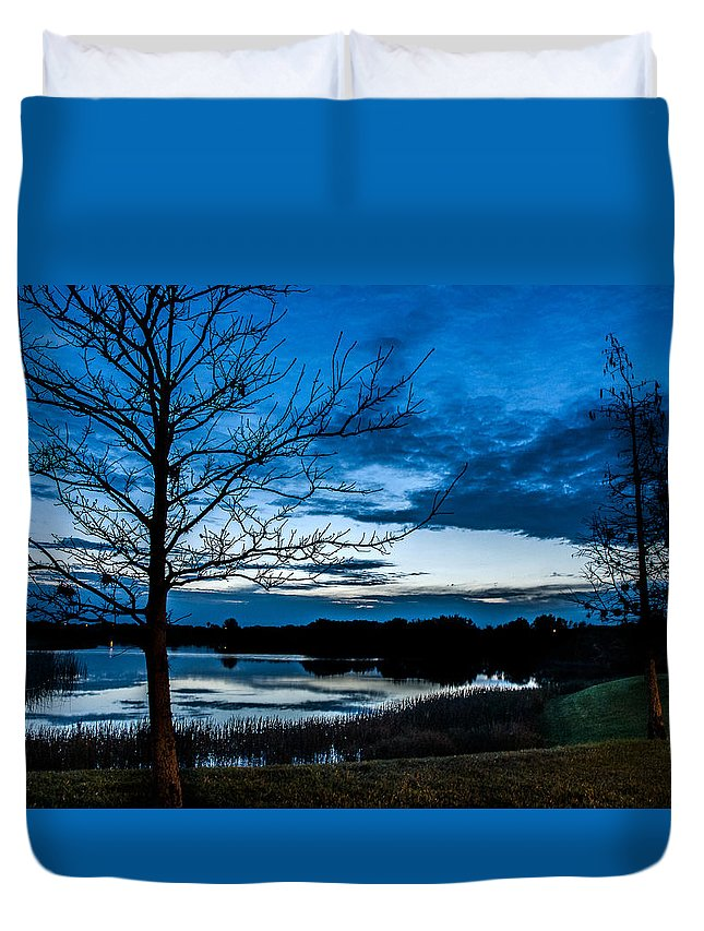 Sunrise Duvet Cover featuring the photograph Pre-dawn Light by Norman Johnson