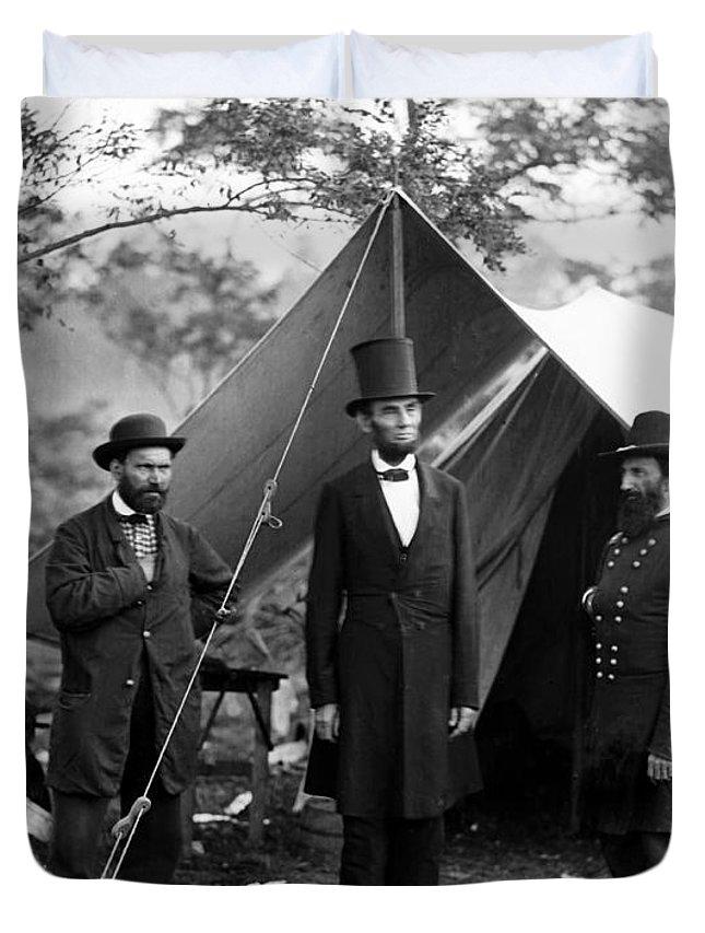 Antietam Photographs Duvet Covers