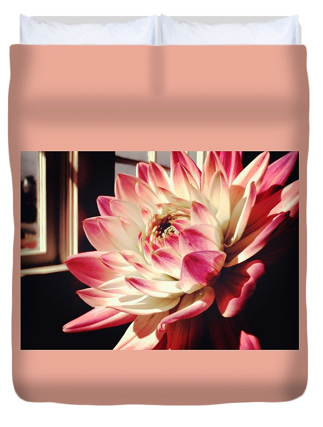 Flower Duvet Cover featuring the photograph Pretty Pink by JAMART Photography