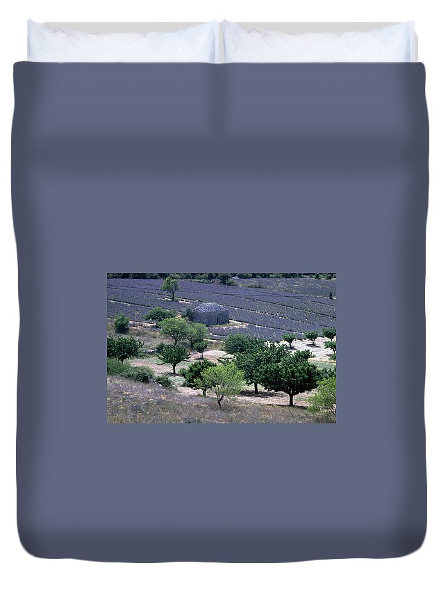 Provence Duvet Cover featuring the photograph Provence by Flavia Westerwelle
