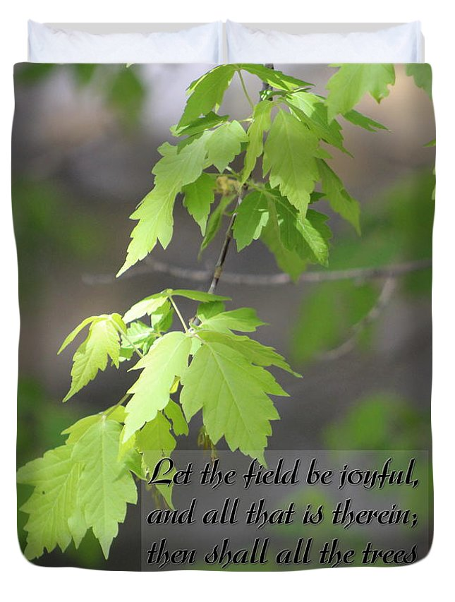 Psalm 96:12 Be Joyful Fine Art Photography
