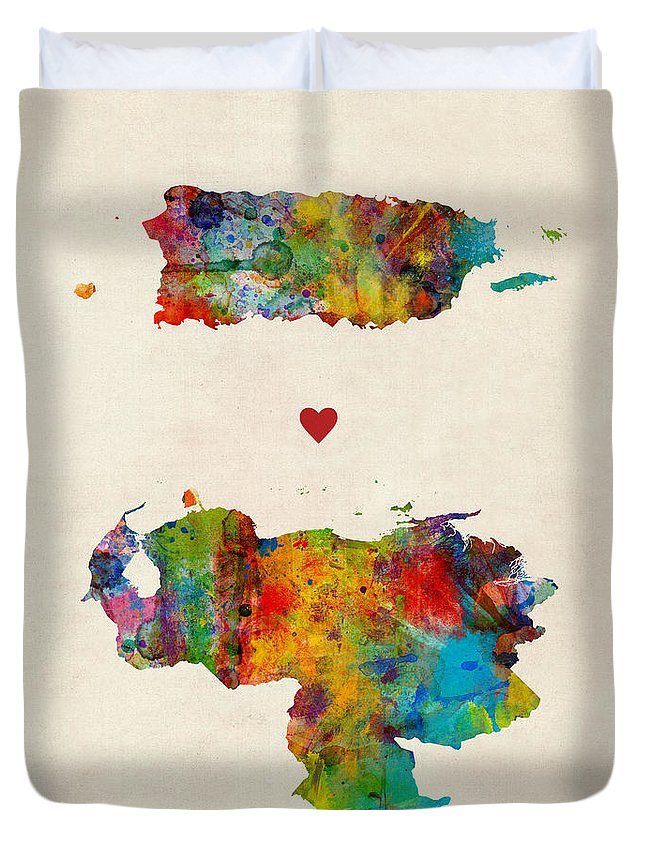 Puerto Rico Duvet Covers
