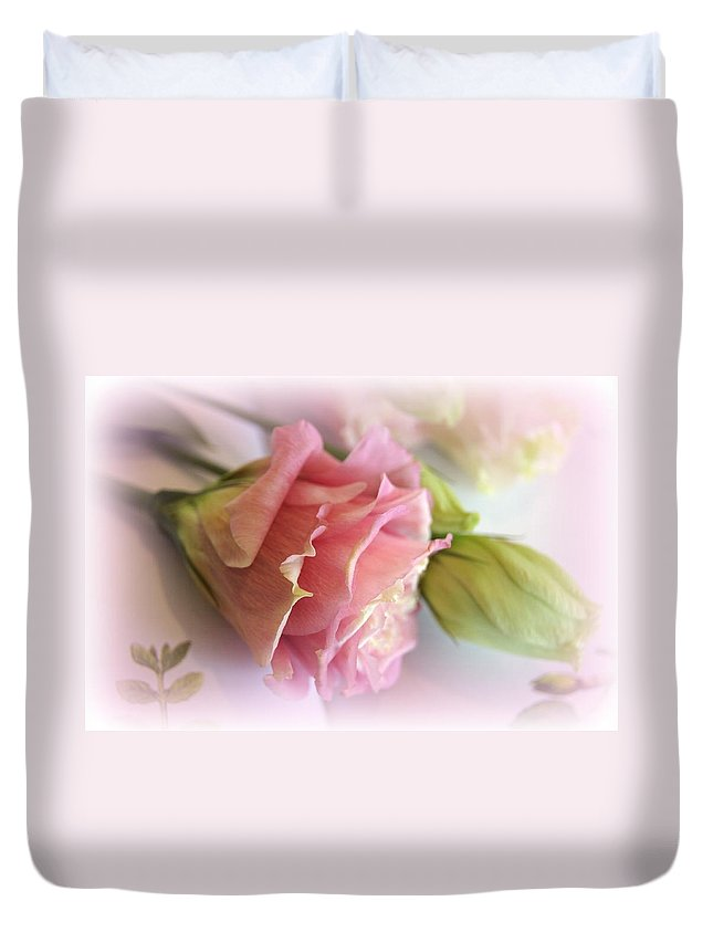 Poetic Duvet Cover featuring the photograph Pure Poetry by Kathy Bucari
