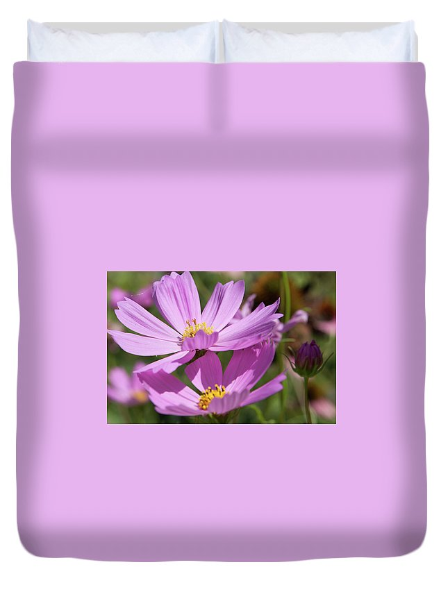 Purple Duvet Cover featuring the photograph Purple Passion by Melissa Leda